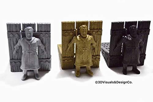 Game of Thrones Door Stop | Hodor Door Stopper (Silver) 3D Visuals & Design Co