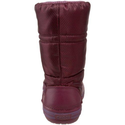 Crocs Crocband - Botas de invierno de media caña para mujer Morado - Plum/Plum