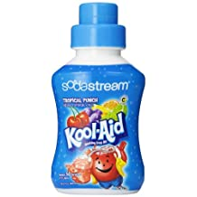 Soda Stream Kool Aid-Tropical Punch Bottle Charger (500ml-Makes 12L of Soda)