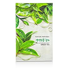 Real Nature Mask Sheet - Green Tea - 10x23ml/0.78oz