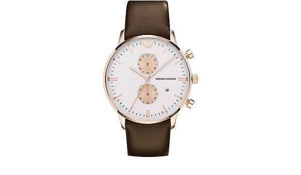 Amazon.com: EMPORIO ARMANI - Mens Watches - ARMANI CLASSICS - Ref. AR0398: Watches