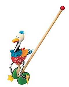 Wonderworld Speedy Flamingo Push Toy by Wonderworld