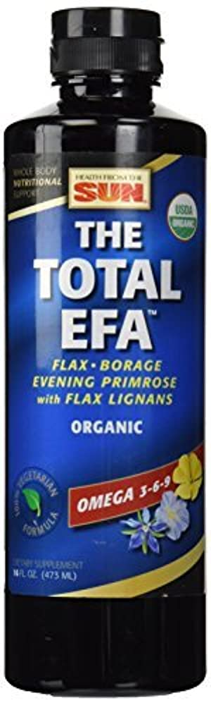 Health From The Sun Lignon Vegetarian Total EFA Made with Organic Ingredients 473 ml by Health From The Sun