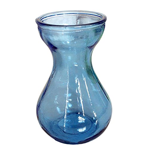 - Outflower 1pc Colorful Hydroponic Vase Hyacinth Glass Vase Desktop Plant Hydroponic Vase for Home/Office Decor(Blue)