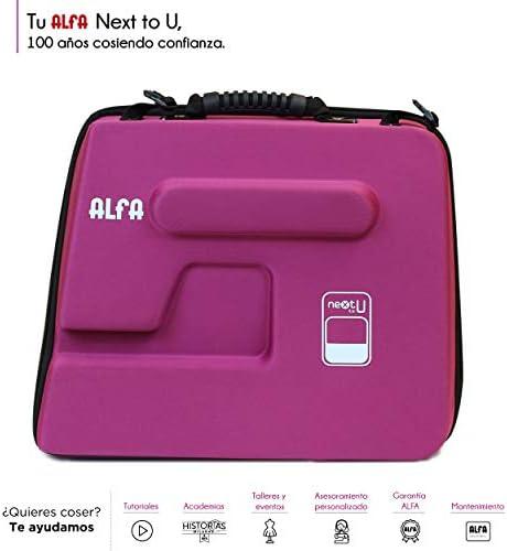 Alfa Funda para Maquina de Coser NEXTtoYOU, Morado, 38 X 22 X32 Cm ...