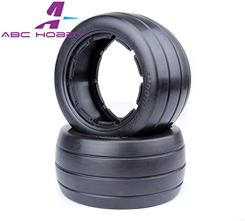 Part & Accessories HPI RACING/KM HPI 5B 5T 5SC LOSI TDBX FS racing MCD 1/5 scale rc Rear slick tyres skin set without inner foam