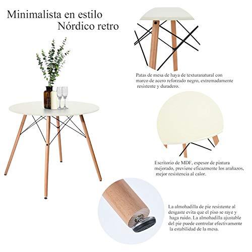 Mejores mesas redondas baratas: modelos auxiliares, de ...