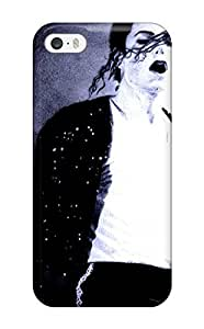 For Iphone 5/5s Fashion Design Michael Jackson King Of Pop Case-lCRoiOM3544ZRYzZ