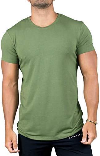 (ビベター)Bebetter メンズ Tシャツ 半袖 スポーツウェア トレーニングウェア フィットネス 無地 ジムウェア ボディビル カジュアル