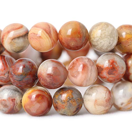 6MM Best Sellers Stone Beads Mexican Crazy Agate Round Loose Beads for Jewelry Making DIY Bracelet Necklace