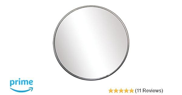 "Grand General 33050 3-3//4/"" Round Stick-On Convex Spot Mirror"