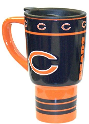 (NFL Chicago Bears 16-Ounce Sculpted Travel Mug)