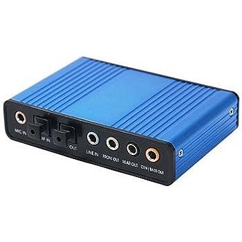 Amazon.com: USB sonido envolvente convertidor con salida de ...