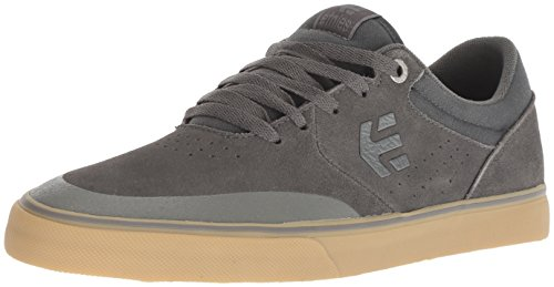 Image of Etnies Men's Marana Vulc Skate Shoe, Grey/Gum, 9 Medium US