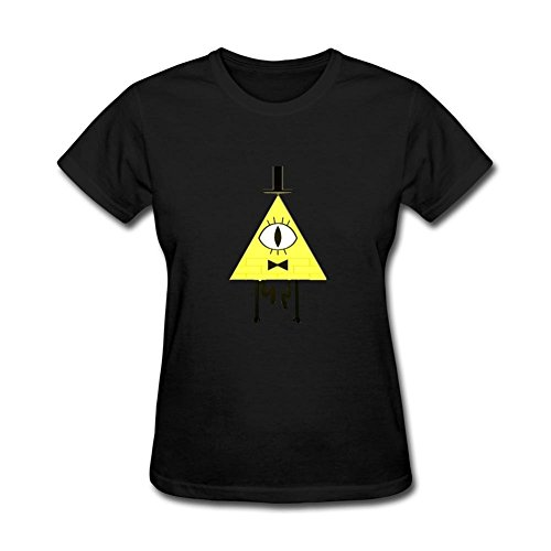 Women's Gravity Falls Symbol Mysteries Short Sleeve T-Shirt (Night Will Fall Singer compare prices)