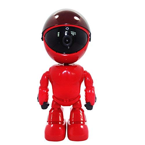 Cámara de Red HD Jesunone - Cámara de red inalámbrica de audio bidireccional, cámara de visión nocturna, cámara robot,...