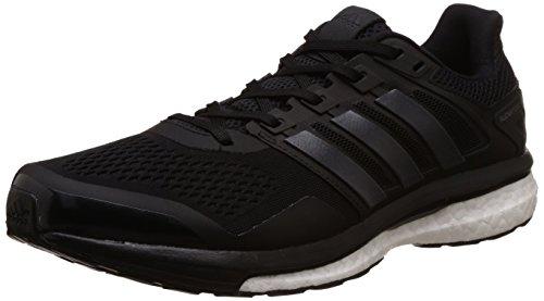adidas Herren Supernova Glide 8 Laufschuhe, Nero (Core Black/Utility Black/Ftwr White), 45/1/3