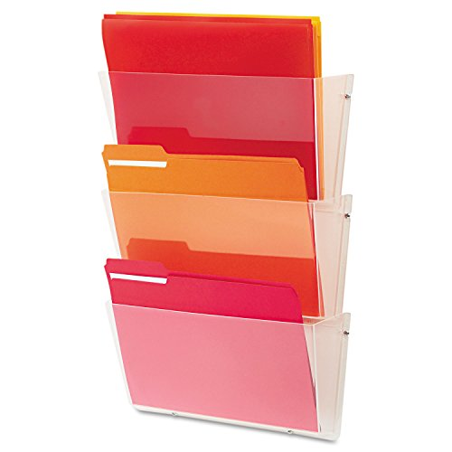 - DEF63601RT United STATIONERS (OP) File,Wall,3-Pckt,LTR,CLR