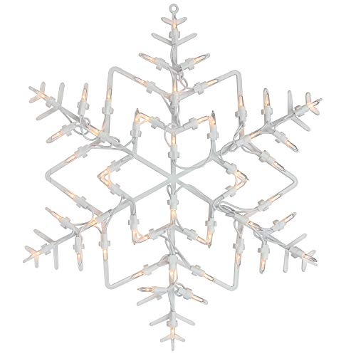 Lighted Snowflake Decorations Outdoor in US - 2