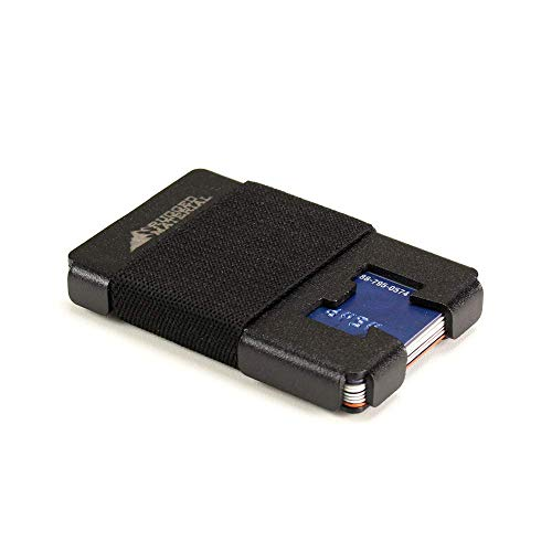 Ranger Minimalist RFID Blocking Wallet & Multitool by Rugged Material in Matte Black ()