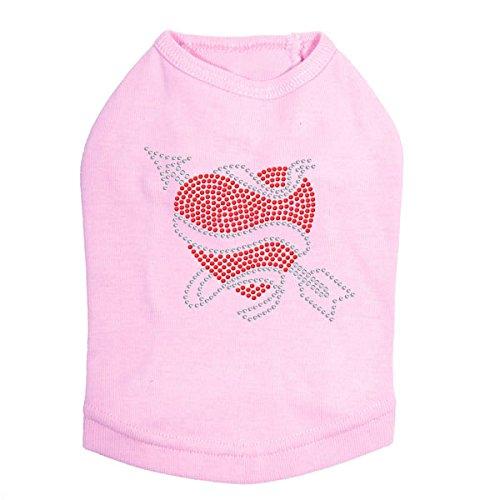 Tattoo Heart with Arrow - Dog Shirt