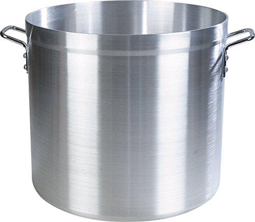 Carlisle 61280 Professional Standard Weight Aluminum Stock Pot, 80 Quart