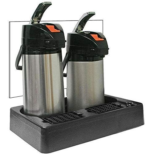 Commercial PAPR2 Two 2 Pot Plastic Station Airpot Rack Coffee Server Display Stand
