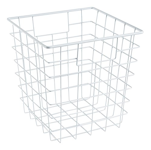 ClosetMaid 13032 Cubeicals Wire Storage Bin, White