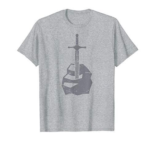 Medieval Literature King Arthur T-Shirt | Sword (King Arthur Legend Of The Sword Mojo)