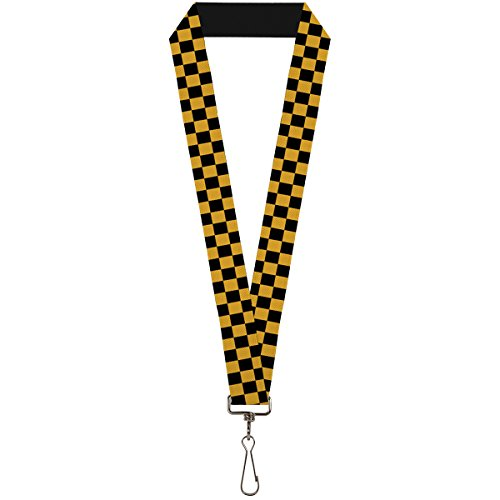Buckle-Down Lanyard - Checkered -