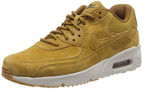 NIKE Men's Air Max 90 Ultra 2.0 Shoe, Wheat/Light Bone/Gum Med Brown, 13 (Nike Air Max 90 Mens Size 13)