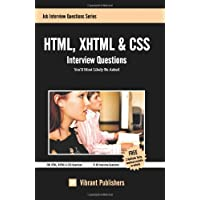 HTML, XHTML & CSS Interview Questions You'll Most Likely Be Asked