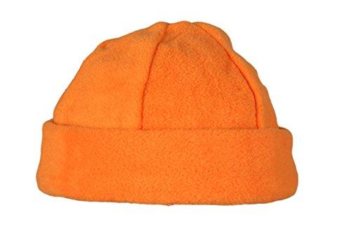 Orange cálido de Gorro forro de para Hat hombres hecho Fleece polar muy invierno Ski Beanie mujeres y qtca4rft