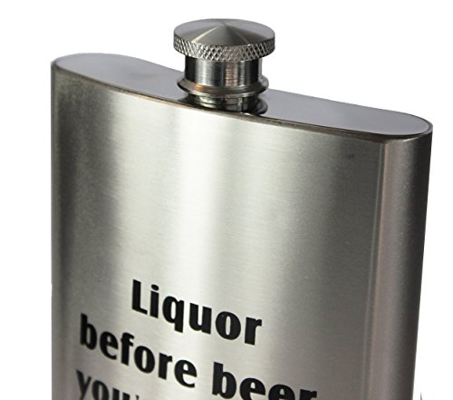 8oz-Stainless-Steel-Primo-188-304-Liquor-Before-Beer-PremiumHeavy-Duty-Hip-Flask-Gift-Set-Includes-Funnel-and-Gift-Box