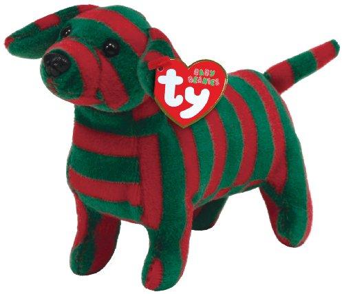 Ty Babie Beanies - Stripes - Dog