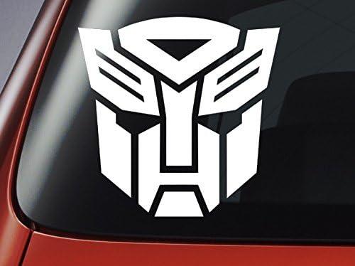 Transformers Autobot Logo – Ventana de coche, carrocería de coche, portátil, adhesivo de pared: Amazon.es: Coche y moto