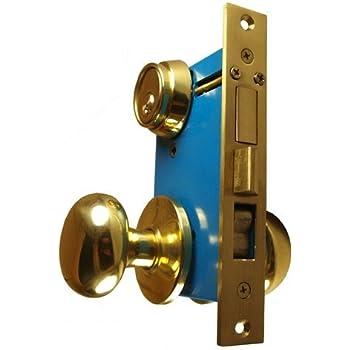 Maxtech Heavy Duty Ornamental Iron Gate Double Cylinder