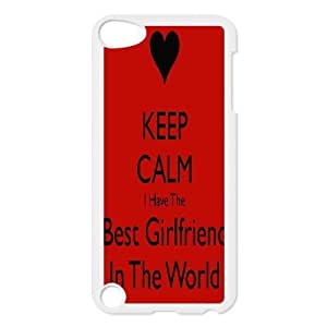 AKERCY Best Girlfriend in the world Phone Case For Ipod Touch 5 [Pattern-6]