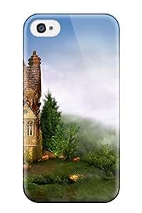 Excellent Design Castle Case Cover For Iphone 4/4s