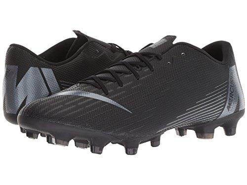 [NIKE(ナイキ)] メンズランニングシューズ?スニーカー?靴 Vapor 12 Academy MG Black/Anthracite/Black/Light Crimson 8.5 (26.5cm) D - Medium