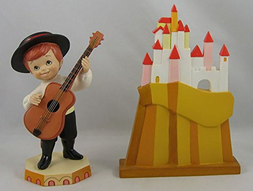 Disney WDCC IT'S A SMALL WORLD AFTER ALL Spain Porcelain Figurine