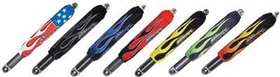 Shock-Pros Flame Shock Covers - Black A201BKFL