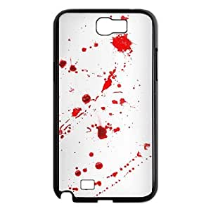 Samsung Galaxy N2 7100 Cell Phone Case Black Dexter Blood JLQ Cell Phone Case Custom Design