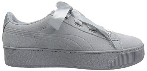 Basses S Ribbon Platform quarry Femme Sneakers Vikky Puma Quarry wqUXxFUp