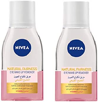Nivea Face Cleanser Eye Makeup Remover Natural Fairness 125ml X 2 Buy Online At Best Price In Ksa Souq Is Now Amazon Sa