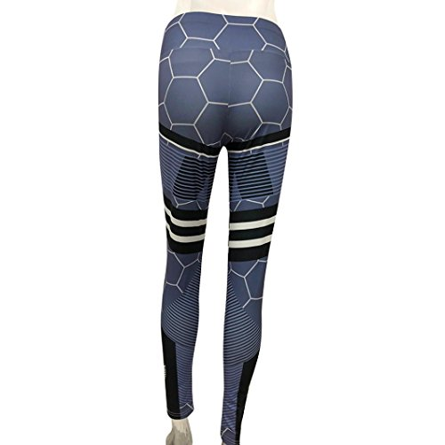 Sumen Women High Waist Yoga Fitness Leggings For Gym Stretch Sports Pants