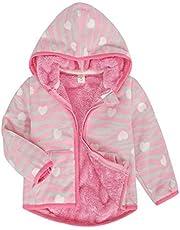 MetCuento Toddler Baby Boys Girls Hoodies Zip up Jackets Athletic Hoodie Fall Winter Fleece Coats Outwear Tops 1-6 Years