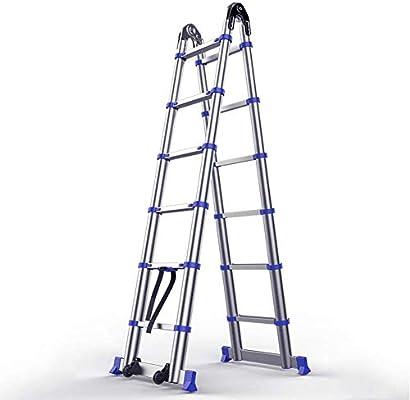 Escalera plegable de extensión telescópica extensible telescópica ...