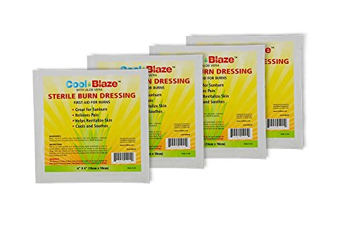Cool Blaze Sterile Burn Dressing (4 Pack)