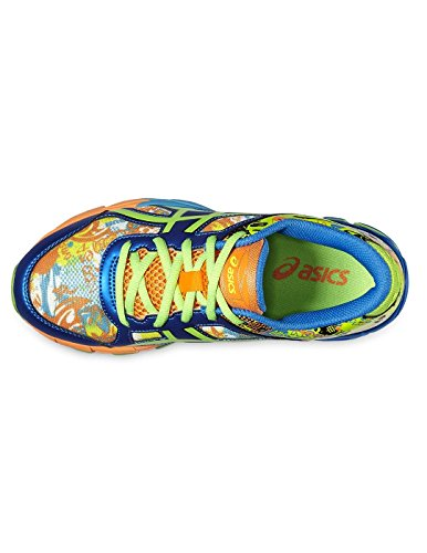 Junior Zapatillass GEL-NOOSA TRI 11 GS SAFETY YELLOW / GREEN GECKO / ELECTRIC BLUE 16/17 Asics safety yellow-green gecko-electric blue